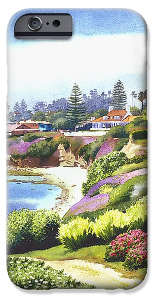 Sun Gold Point La Jolla iPhone Case by Mary Helmreich