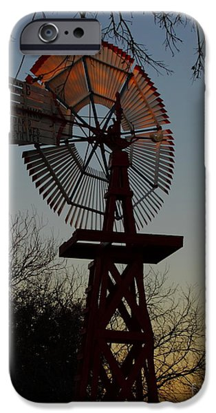 Moonscape iPhone Cases - Sun Moon And Wind iPhone Case by Robert Frederick