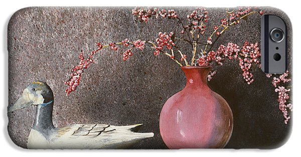 A Hand-thrown Paintings iPhone Cases - Sunday Afternoon iPhone Case by Monte Toon