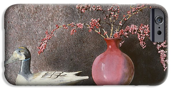 Sunlight On Pots Paintings iPhone Cases - Sunday Afternoon iPhone Case by Monte Toon