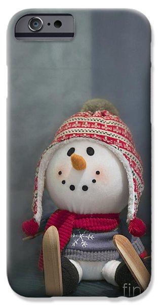 Winter iPhone Cases - Sunday is Funday iPhone Case by Evelina Kremsdorf