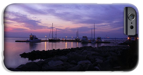 Yorktown Virginia iPhone Cases - Sunday Morning Blues  iPhone Case by Olahs Photography