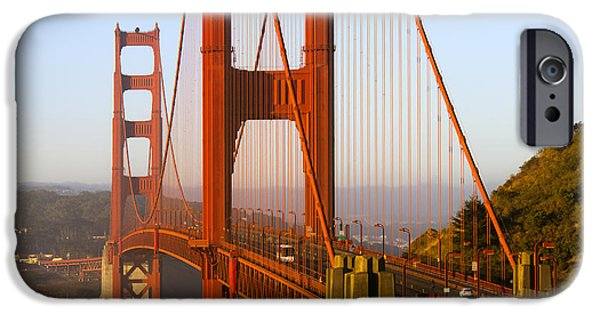 Sausalito iPhone Cases - Sunday Morning Traffic iPhone Case by Bryant Coffey