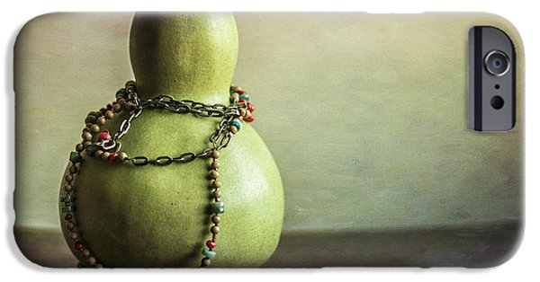 Interior Still Life iPhone Cases - Sunday Still Life iPhone Case by Terry Rowe