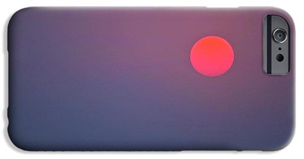 Koehrer-wagner_heiko iPhone Cases - Sundown iPhone Case by Heiko Koehrer-Wagner
