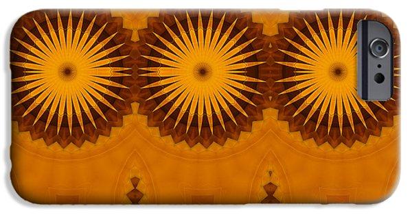 Business Digital iPhone Cases - Sunflowers iPhone Case by Georgiana Romanovna