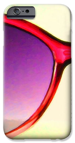 Sunglass - 5D20678 - v2 iPhone Case by Wingsdomain Art and Photography