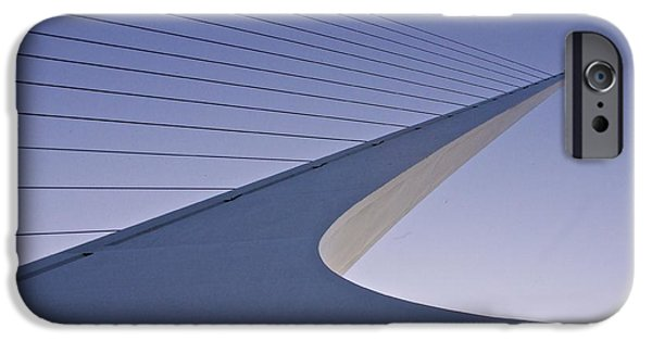 Island Stays iPhone Cases - Sundial Bridge iPhone Case by Sean Griffin