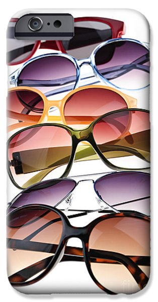 Aviator iPhone Cases - Sunglasses iPhone Case by Elena Elisseeva