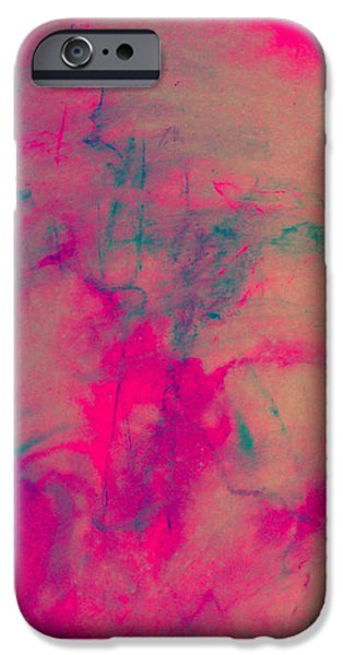 Organic Pastels iPhone Cases - SUNLIGHT and SHADOWS.I iPhone Case by Josie Taglienti