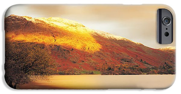 Generic iPhone Cases - Sunlight On Mountain Range, Ullswater iPhone Case by Panoramic Images