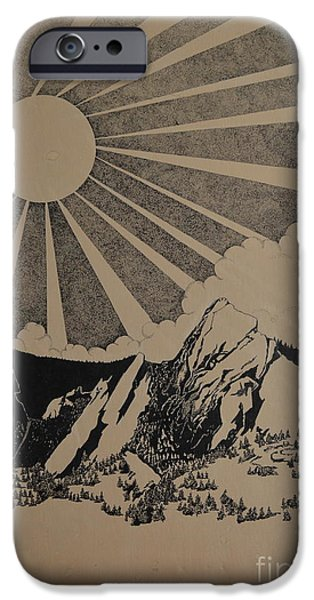 Love Asheville iPhone Cases - Sunny 300 days a year iPhone Case by Stuart Engel