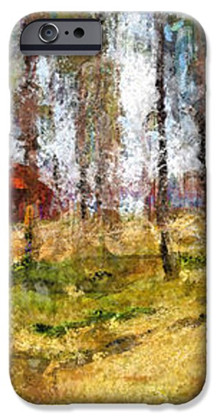 Sunny day in April iPhone Case by Yury Malkov