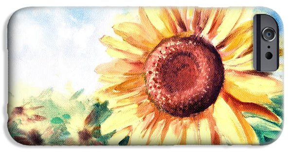 Flora iPhone Cases - Sunny Days iPhone Case by Melissa Herrin