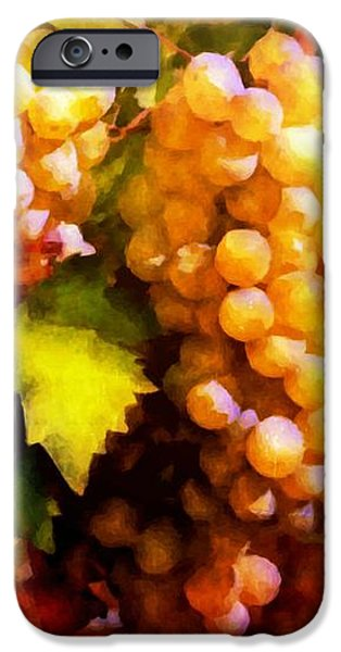 Sunny Grapes - edition 2 iPhone Case by Lilia D