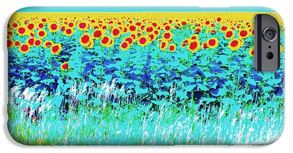 Ann Johndro-collins iPhone Cases - Sunny Kansas iPhone Case by Ann Johndro-Collins