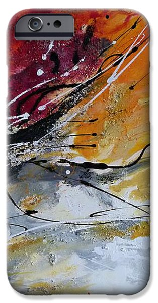 Sunrise - Abstract art iPhone Case by Ismeta Gruenwald