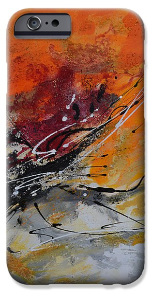 Sunrise - Abstract iPhone Case by Ismeta Gruenwald