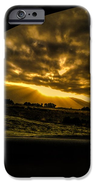 Sun Breakthrough iPhone Cases - Sunrise at 65 iPhone Case by Raymond Collins