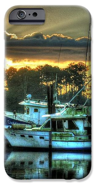 Sunrise at Billy's iPhone Case by Michael Thomas