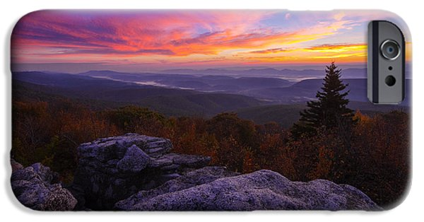 Sod iPhone Cases - Sunrise at Dolly Sods in West Virginia iPhone Case by Jetson Nguyen