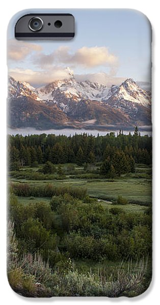 Sunrise At Grand Teton iPhone Case by Brian Harig