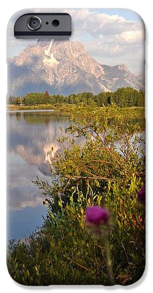 Sunrise at Oxbow Bend 5 iPhone Case by Marty Koch