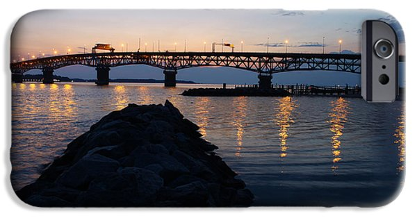 Yorktown iPhone Cases - Sunrise iPhone Case by Barry  Blackburn