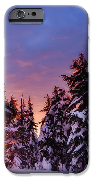 Sunrise Dreams iPhone Case by Darren  White