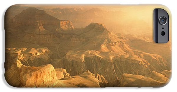 Grand Canyon iPhone Cases - Sunrise Hopi Point Grand Canyon iPhone Case by Panoramic Images