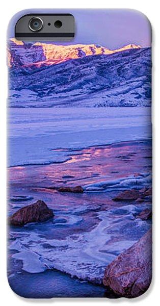 Sunrise Ice Reflection iPhone Case by Chad Dutson
