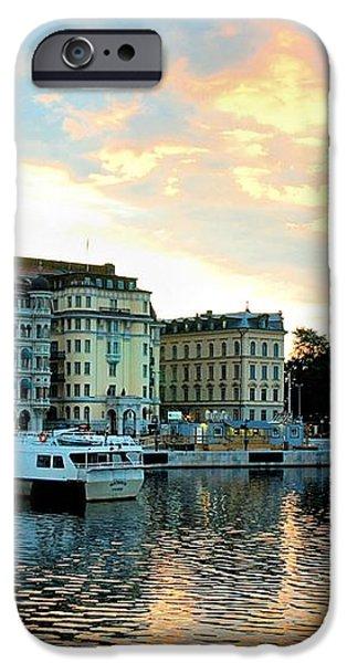 Sunrise in Stockholm iPhone Case by Jenny Hudson