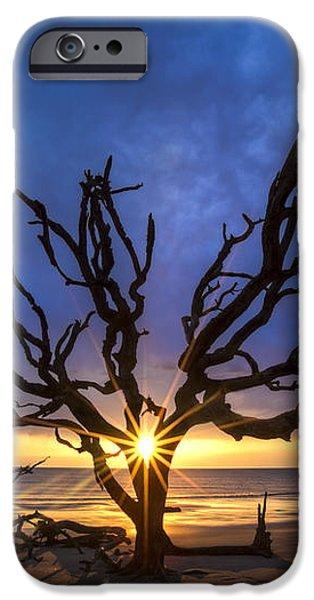 Sunrise Jewel iPhone Case by Debra and Dave Vanderlaan