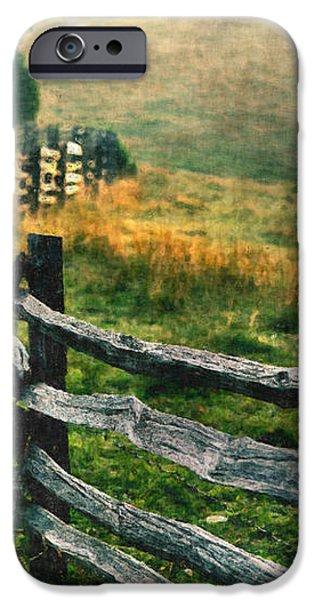 Sunrise Meadow - Blue Ridge Parkway II iPhone Case by Dan Carmichael