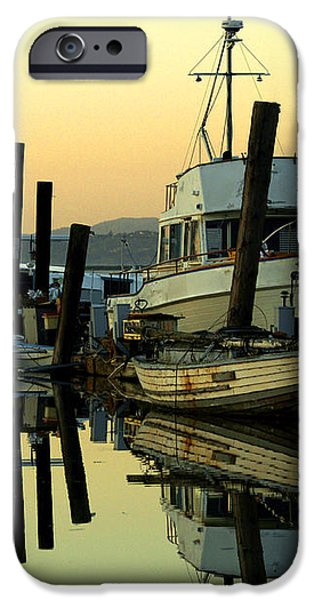 Sunrise on the Petaluma River iPhone Case by Bill Gallagher