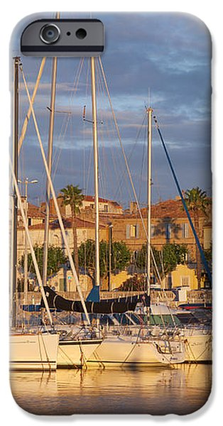 Sunrise over La Ciotat France iPhone Case by Brian Jannsen