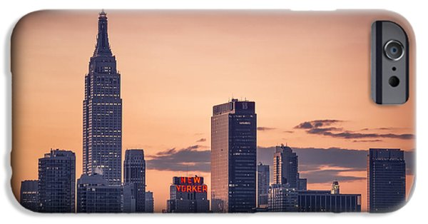 Recently Sold -  - Business iPhone Cases - Manhattan sunrise iPhone Case by Eduard Moldoveanu