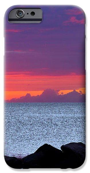 Sunrise Sailing iPhone Case by Mary Amerman