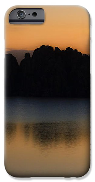 Sunrise Solitude iPhone Case by Dave Dilli
