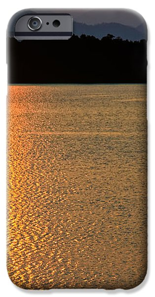 Sunset Asia  iPhone Case by Adrian Evans