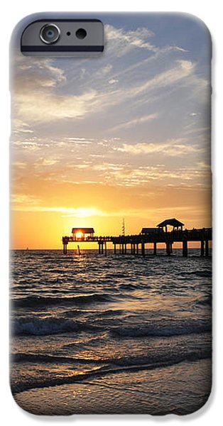 Sunset at Clearwater iPhone Case by Bill Cannon