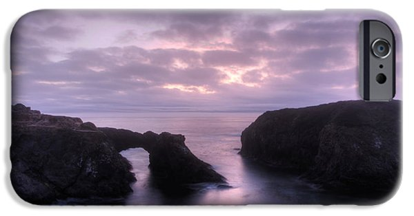 Buy iPhone Cases - Sunset at Mendocino iPhone Case by Bob Christopher