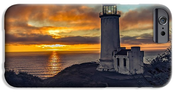 Recently Sold -  - Haybale iPhone Cases - Sunset at North Head iPhone Case by Robert Bales