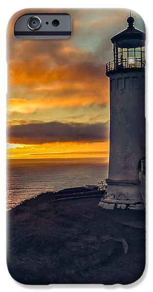 Sunset at North Head iPhone Case by Robert Bales