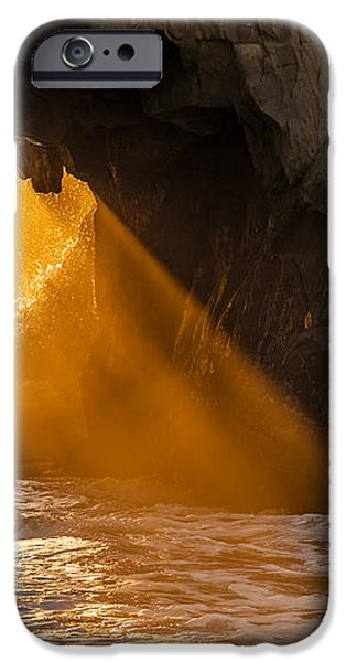 Sunset at Pfeiffer Beach iPhone Case by George Buxbaum