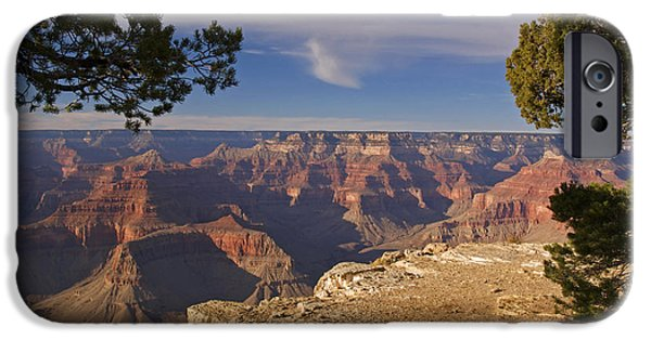 Grand Canyon iPhone Cases - Sunset at the Grand Canyons Hopi Point iPhone Case by Alex Cassels