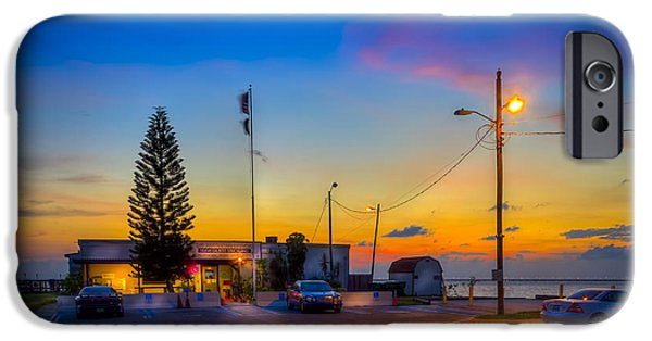 Dave iPhone Cases - Sunset at the Post iPhone Case by Marvin Spates