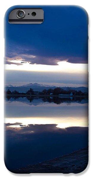 Sunset at Windsor Lake iPhone Case by Dana Kern