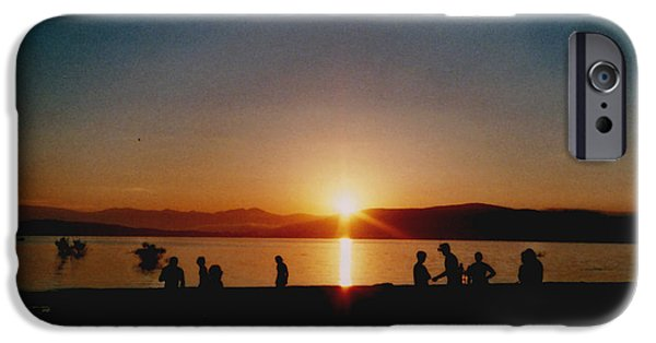 Summer iPhone Cases - Sunset Boulevard iPhone Case by Juan  Bosco