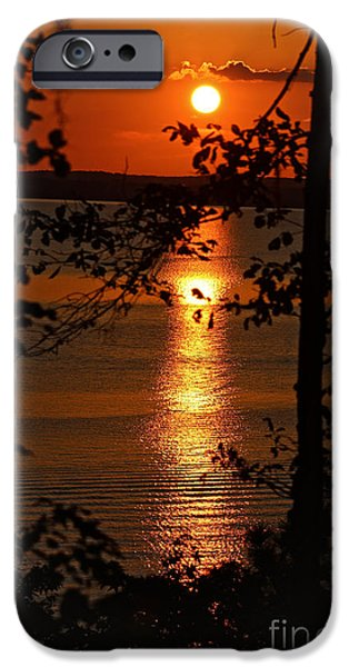 Pathway iPhone Cases - Sunset Finale iPhone Case by Ella Kaye Dickey